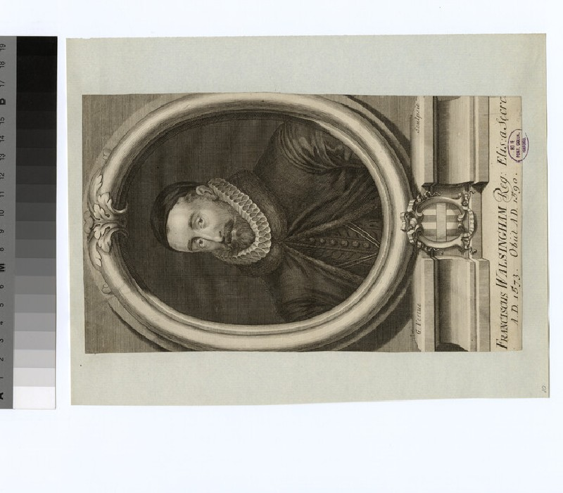Portrait of F. Walsingham