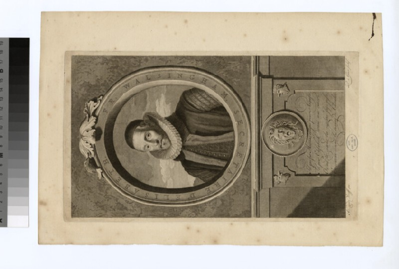 Portrait of F. Walsingham (WAHP29051)
