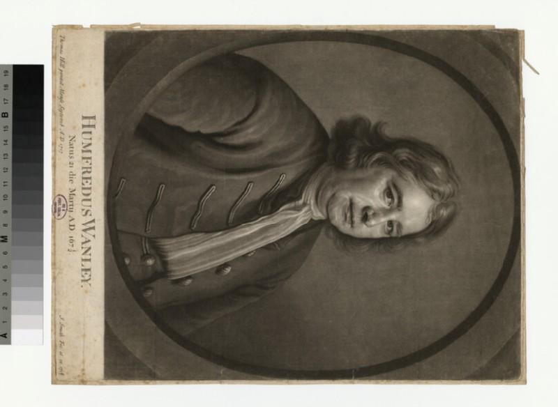 Portrait of Humphrey Wanley (WAHP29073)