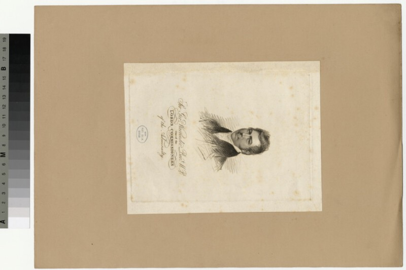 Portrait of G. Warrender