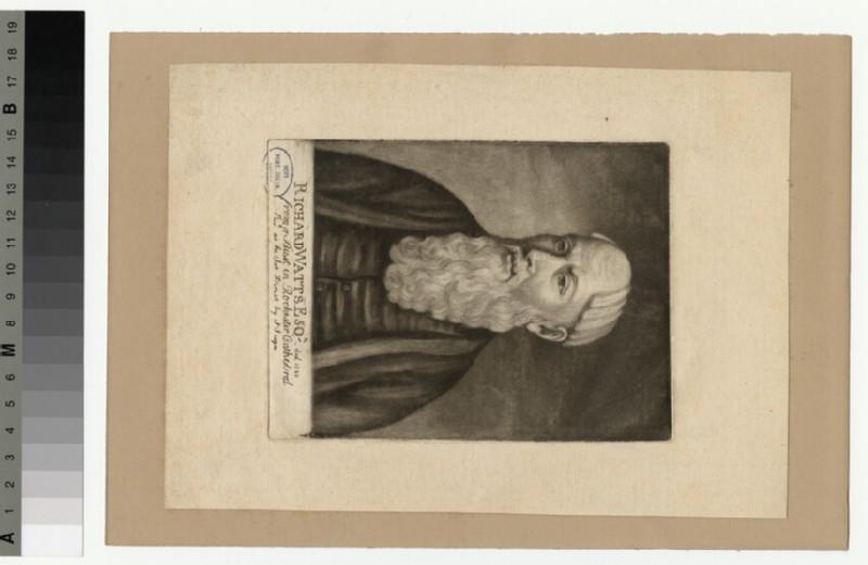Portrait of Richard Watt (WAHP29097.1)
