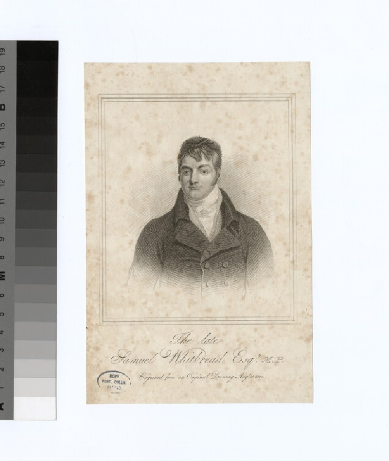 Portrait of S. Whitbread (WAHP29161)