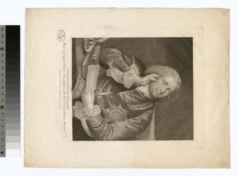 Portrait of Charles Hanbury Williams