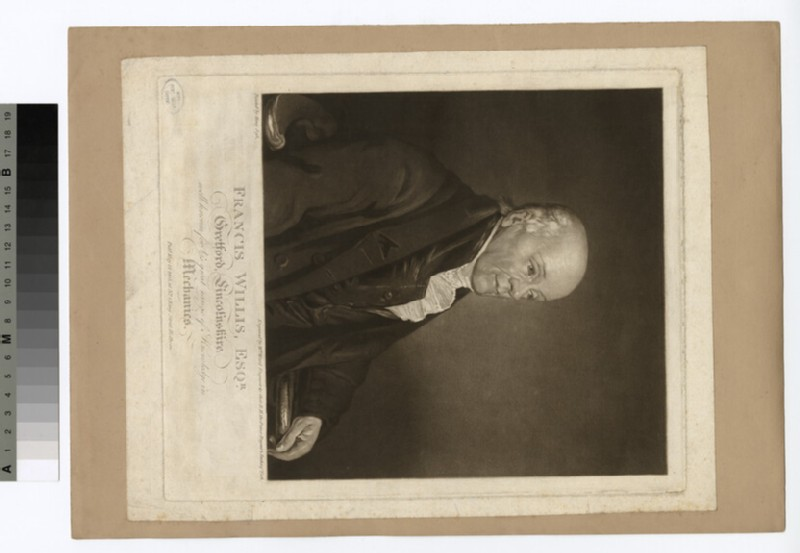 Portrait of Francis Willis (WAHP29208)