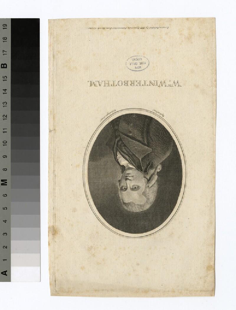Portrait of W. Winterbotham (WAHP29234)