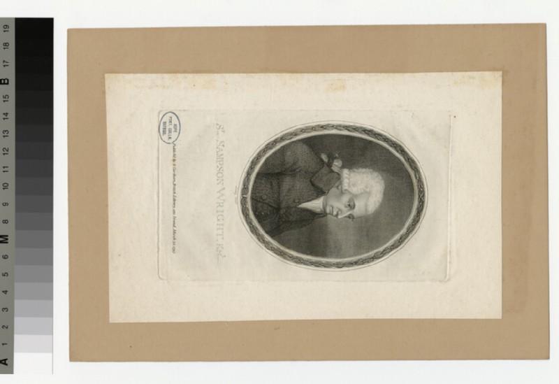 Portrait of S. Wright