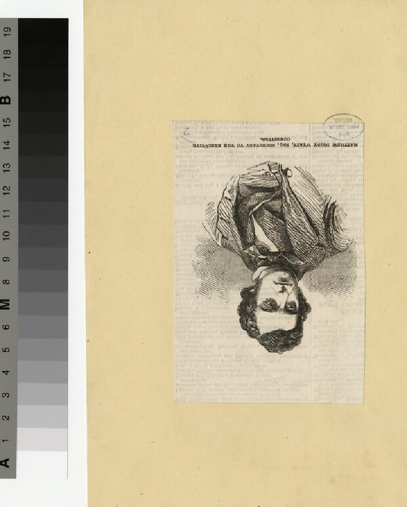 Portrait of M. D. Wyatt (WAHP29278)