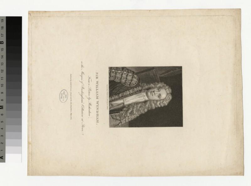 Portrait of W. Wyndham
