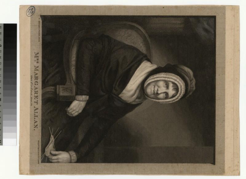 Portrait of M. Allan