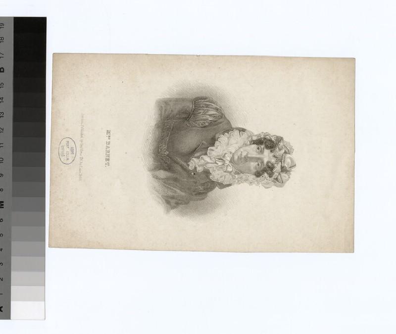 Portrait of Mrs Barnet
