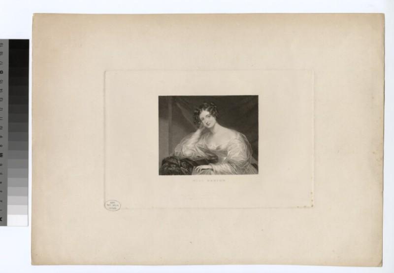 Portrait of Miss Barton