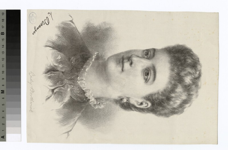 Portrait of Mrs Borthwick