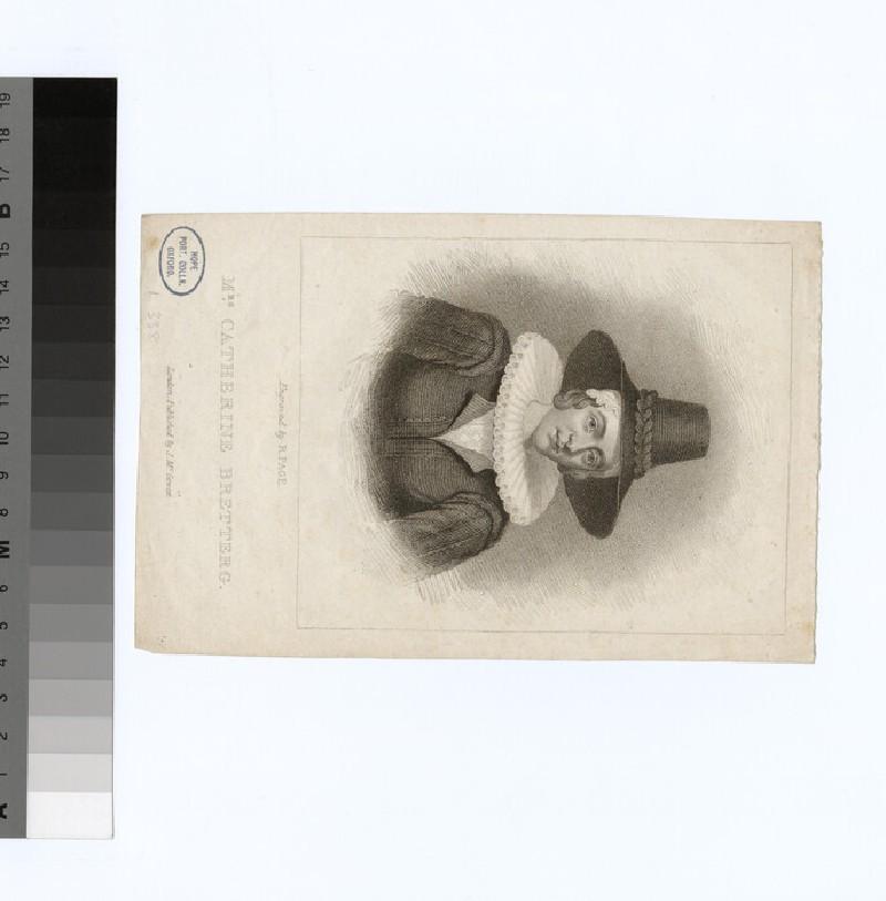 Portrait of C. Bretterg (WAHP29368)