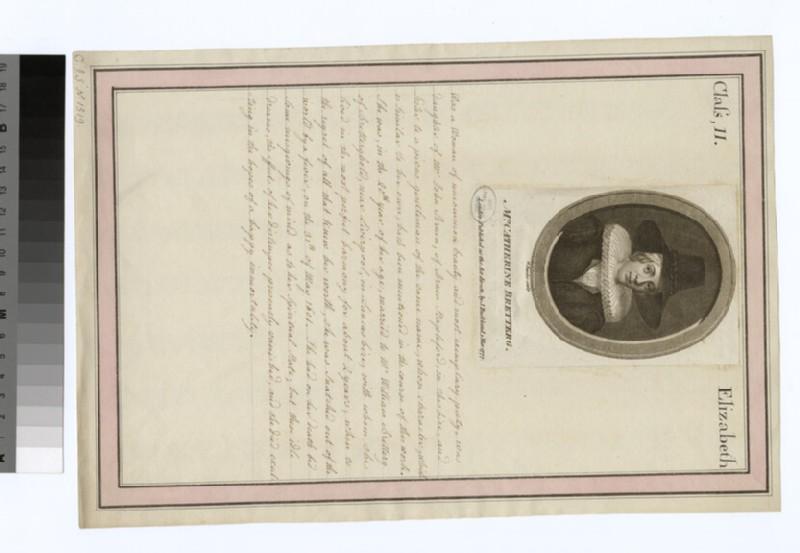 Portrait of C. Burder Bretterg (WAHP29370)