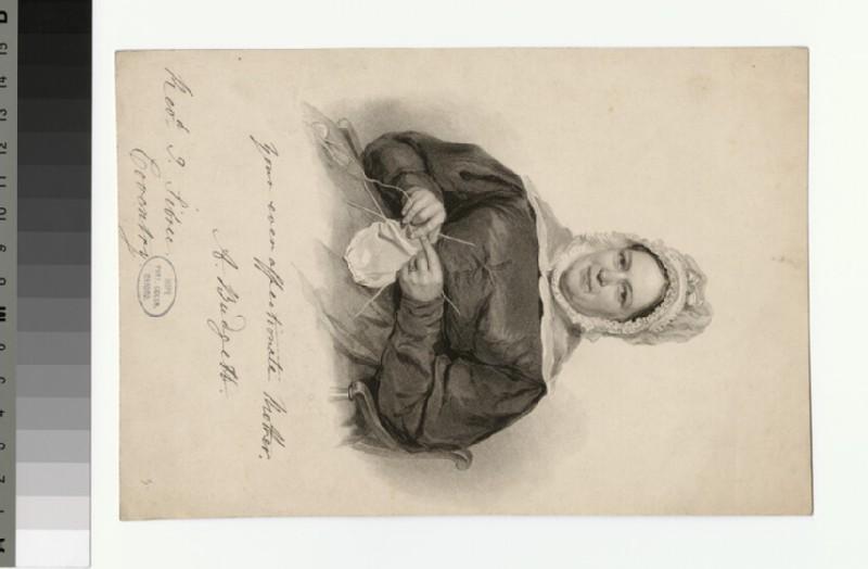 Portrait of A. Budgett