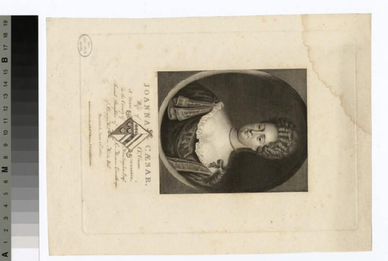 Portrait of Joanna Caesar (WAHP29404)