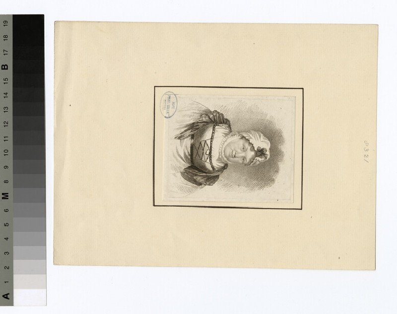 Portrait of Mrs Cappe (WAHP29415)