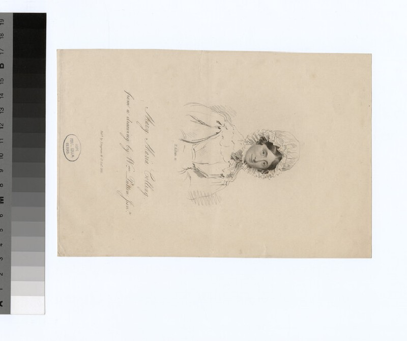 Portrait of M. M. Colling (WAHP29449)