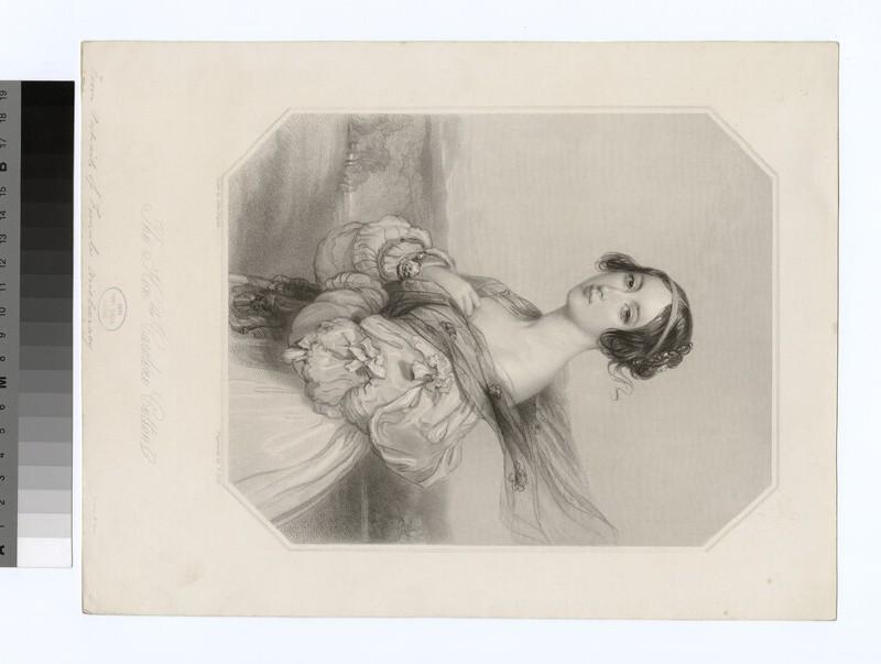 Portrait of C. Cotton