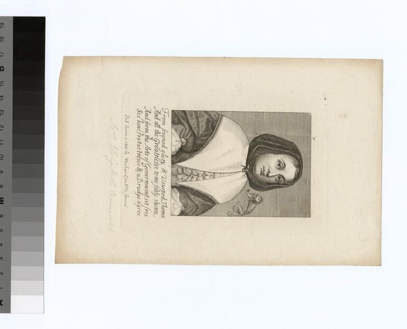 Portrait of E. Cromwell