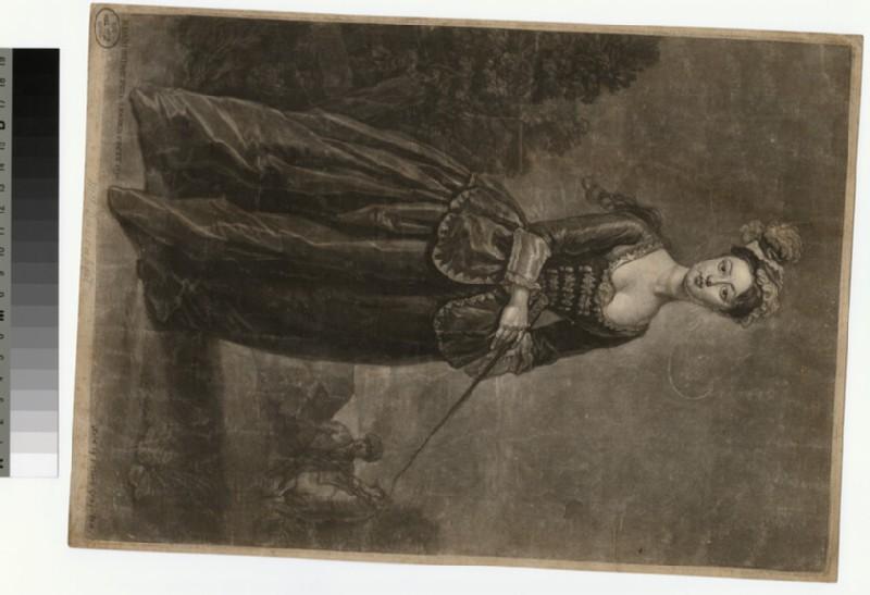 Portrait of Mrs Davenport (WAHP29483.1)