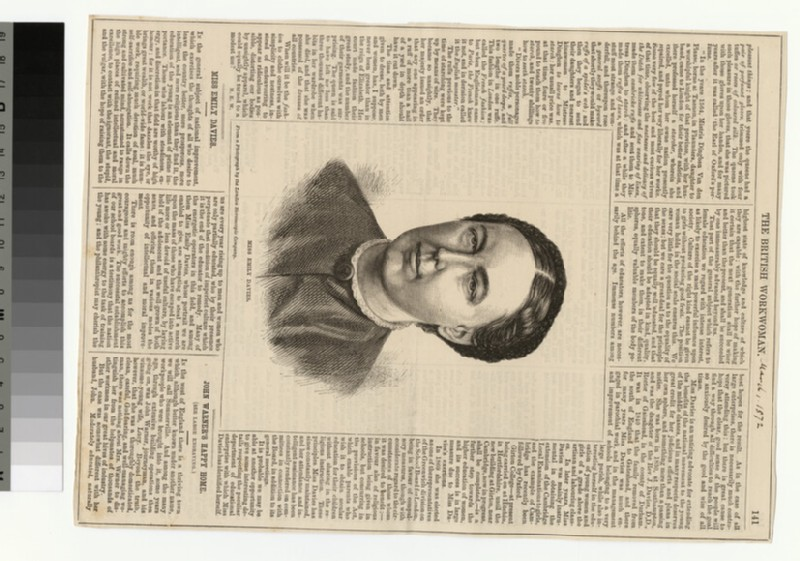 Portrait of Emily Davies