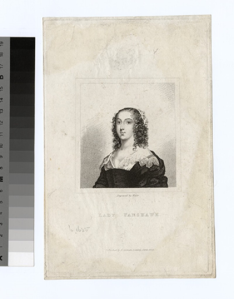 Portrait of Lady Fanshawe