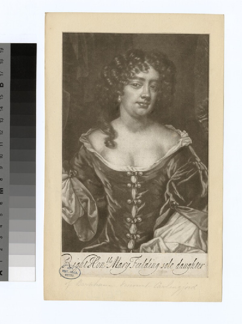 Portrait of Mary Feilding