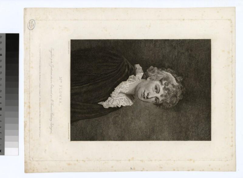 Portrait of Mrs Flower (WAHP29570)