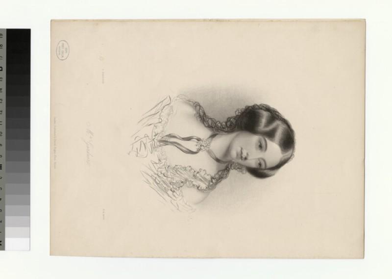Portrait of Mrs Gardner