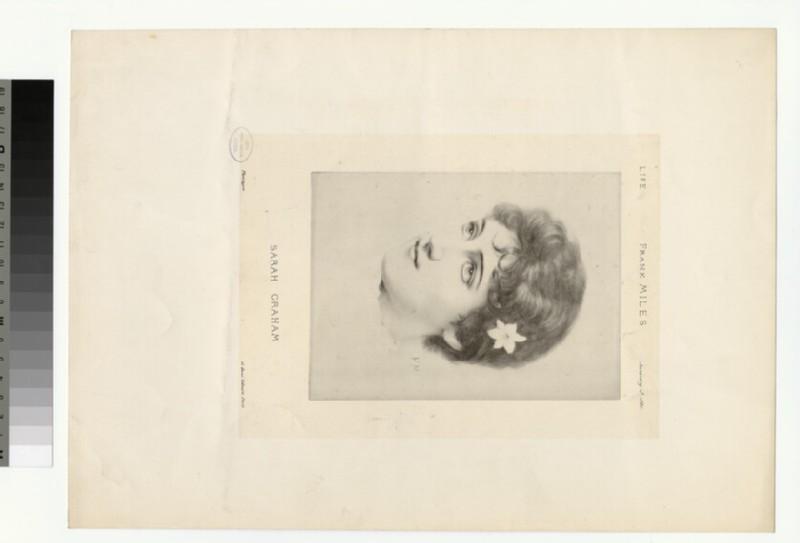 Portrait of S. Graham