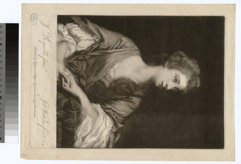 Portrait of Miss Greenway