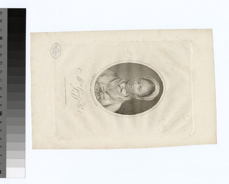 Portrait of Elizabeth Griffith