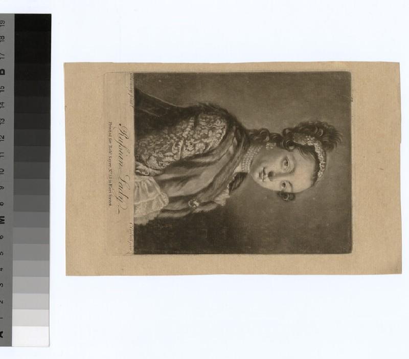 Portrait of Mrs Gumbledon