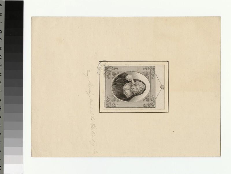 Portrait of M. Harding