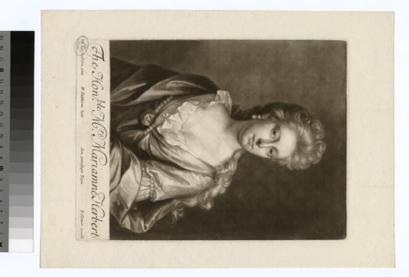 Portrait of Mrs M. Herbert