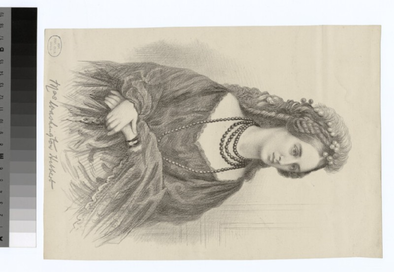 Portrait of Mrs W. Hibbert (WAHP29652)