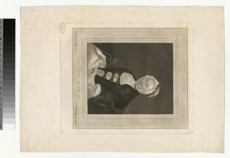 Portrait of Ann Holme, aged 77