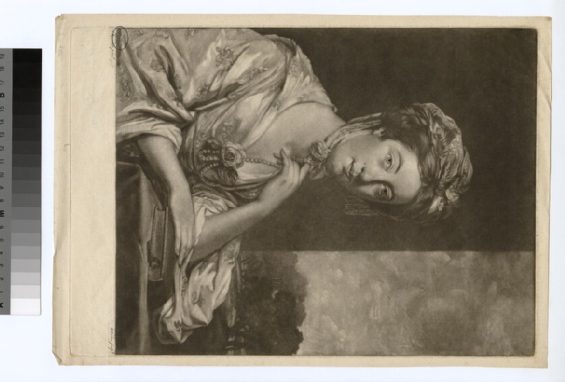Portrait of Mary Hope (WAHP29662)
