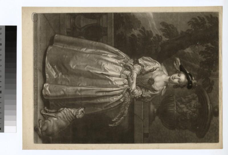 Portrait of Miss Hudson