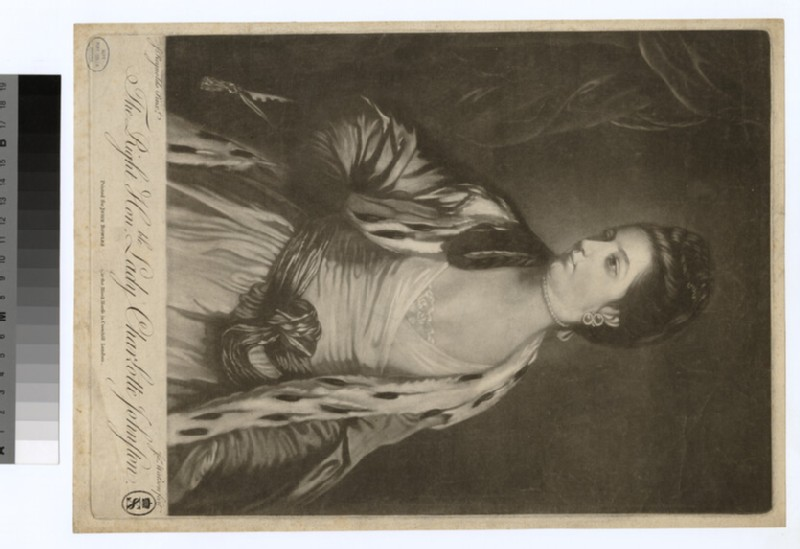 Portrait of Lady Charlotte Johnston