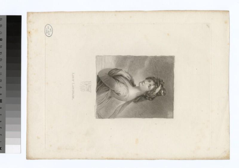 Portrait of Lady Langham (WAHP29723)