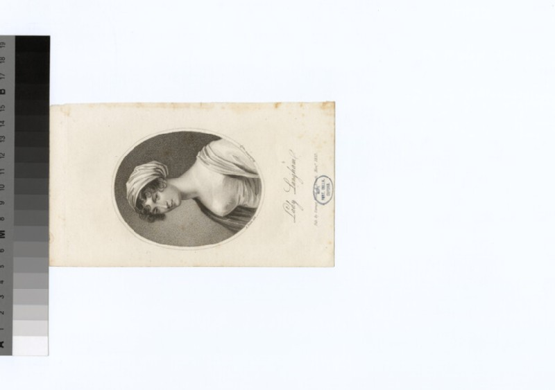 Portrait of Lady Langham (WAHP29724)
