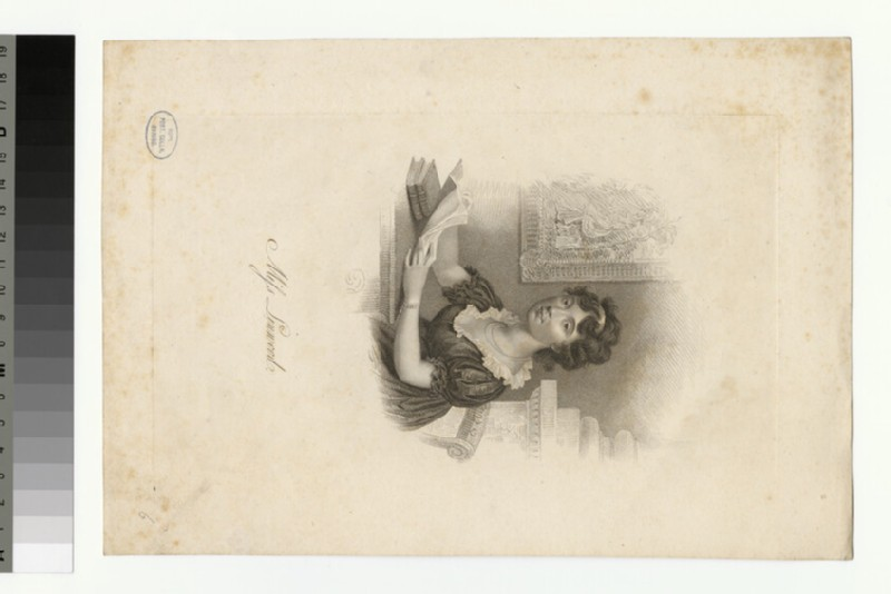 Portrait of Miss Linwood