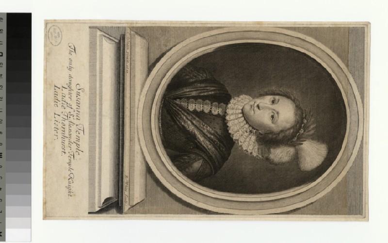 Portrait of Susanna Temple (WAHP29757)