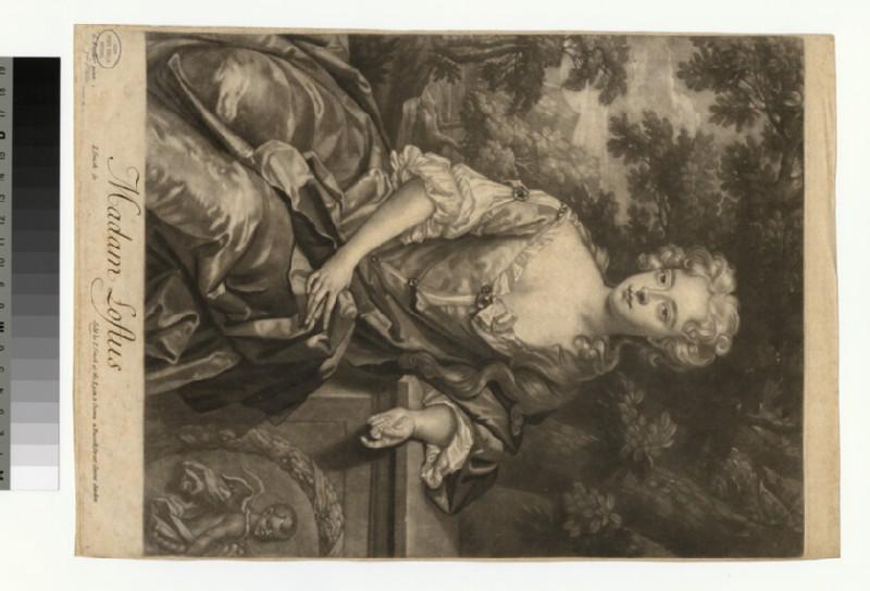 Portrait of Madam Loftus (WAHP29761)