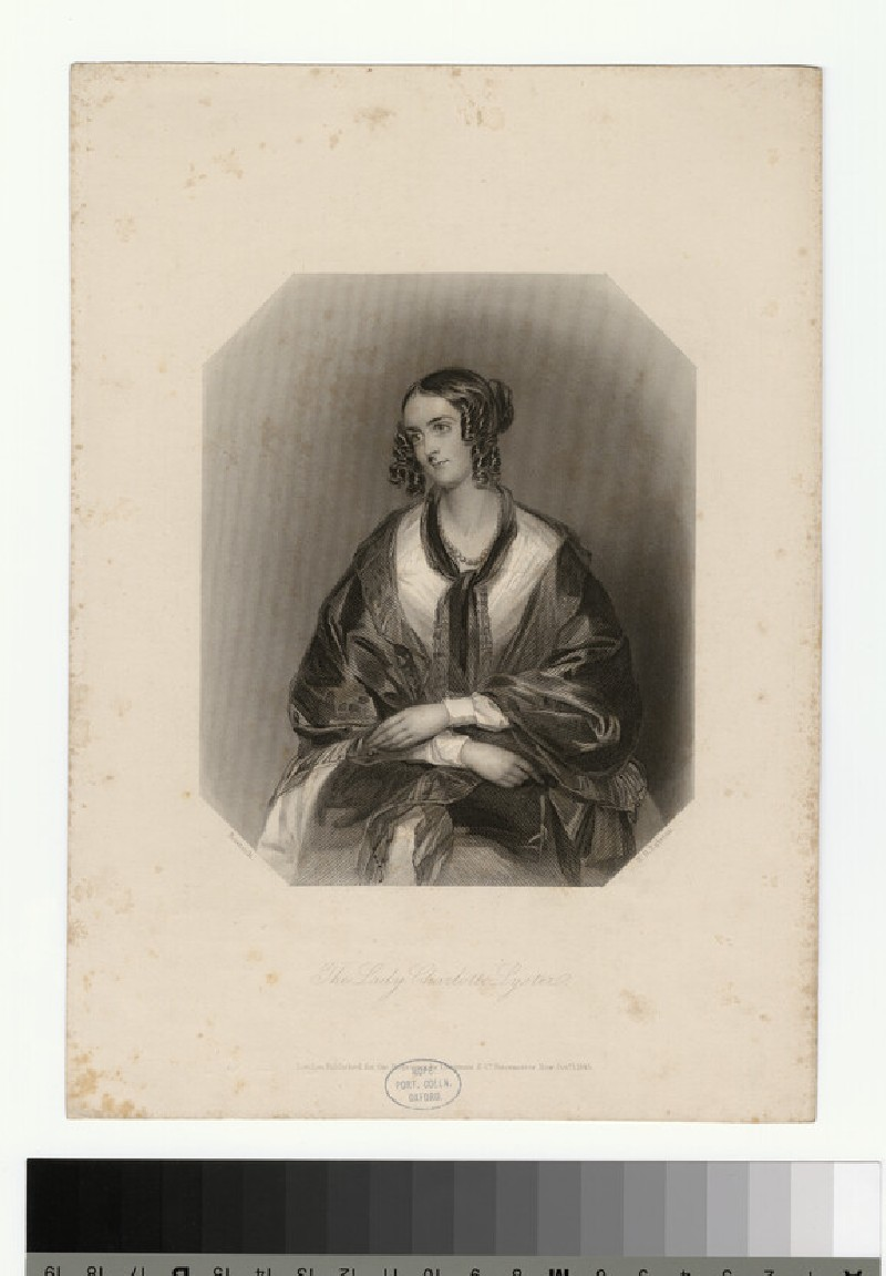Portrait of Lady C. Lyster (WAHP29764)