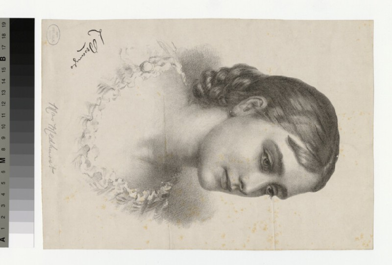 Portrait of Mrs Medhurst