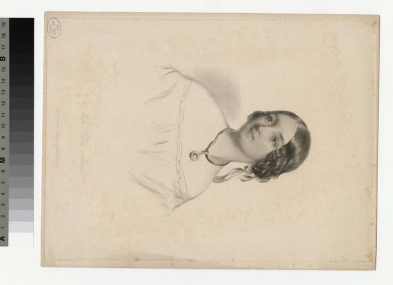 Portrait of Mrs Edith Mercer (WAHP29782)