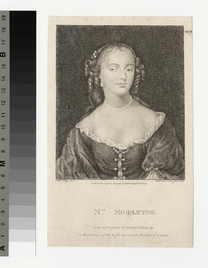 Portrait of Mrs Middleton